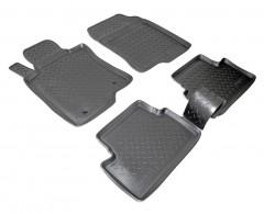 Коврики в салон для Honda Accord 8 '08-13 EUR полиуретановые (Nor-Plast)