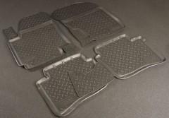 Коврики в салон для Hyundai i-20 '08- полиуретановые (Nor-Plast)