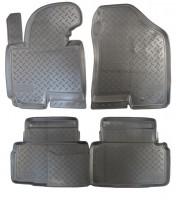 Коврики в салон для Hyundai ix-35 '10-15 полиуретановые (Nor-Plast)