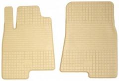 Коврики в салон передние для Toyota LC Prado 150 '10-13 резиновые, бежевые (Stingray)
