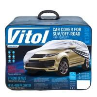 Тент автомобильный для джипа / минивена Vitol Peva+Non-PP Cotton M (JC13402)