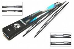 Щетки стеклоочистителя каркасные Oximo 650 и 650 мм. (к-кт) WEX350350