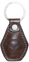 "Avtoradosti Брелок для ключей коричневый с логотипом ""Mazda"" 46550"