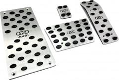 Накладки на педали Audi Q7 АКПП 4 шт. (J-tec)