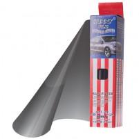 Полоска на лобовое стекло металлик 0.2x1.5m BlackSilver 0%-6% (Sunny)