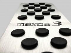 Фото 2 - Накладки на педали Mazda 3 АКПП 3 шт. (J-tec)