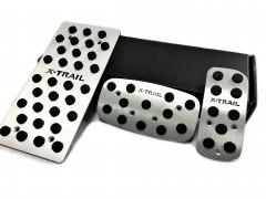 Накладки на педали NISSAN X-Trail АКПП 3 шт. (J-tec)