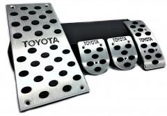 Накладки на педали Toyota МКПП 4 шт. (J-tec)