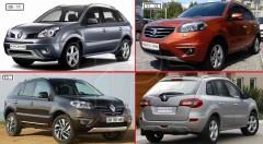 Противотуманная фара для Renault Koleos 2006 - 2016 левая (FPS)