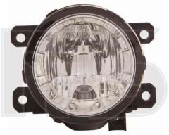 Противотуманная фара с ДХО для Nissan Leaf '10-17 левая/правая (DEPO)
