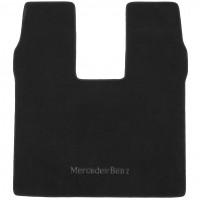 Коврик в багажник дляMercedes S-Class W222 c 2013 с вырезом под холодильник, текстильный черный