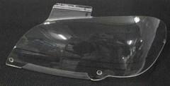 Защита фар для Audi Q7 2007 прозрачная 2 шт. (EGR)