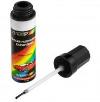Фото 2 - Краска для ремонта сколов и царапин Skoda 9102 серебристый металлик 12 мл. (Motip)