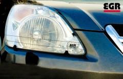 Защита фар для Honda CR-V '05-06 прозрачная 2 шт. (EGR)
