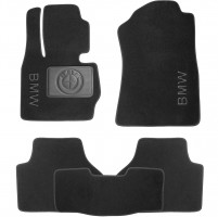 Textile-Pro Коврики в салон для BMW X4 с 2014 текстильные, черные (Nubuck)