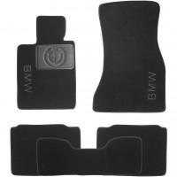 Textile-Pro Коврики в салон для BMW 7 G11 с 2015 текстильные, черные (Nubuck)