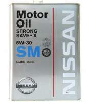Chempioil STRONG SAVE-X Nissan 5w30 (4 л)