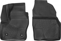 Коврики в салон для Ford Tourneo Connect c 2013, полиуретановые, черные, передние (L.Locker)