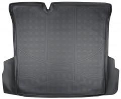 Коврик в багажник для Ravon R4 с 2016, полиуретановый черный (Nor-Plast)