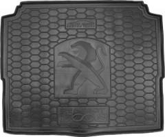 Коврик в багажник для Peugeot 3008 с 2017, нижний, резиновый (AVTO-Gumm)