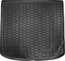 Коврик в багажник для Seat Altea XL 2007 - 2015, верхний, резиновый (AVTO-Gumm)