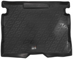 Коврик в багажник для Renault Kangoo Multix с 2013, резино/пластиковый (Lada Locker)