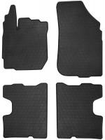Коврики в салон для Renault Duster c 2015-2018, 4/2WD резиновые, черные (Stingray)