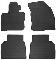 Коврики в салон для Honda Civic 5D 2006 - 2012 резиновые, черные (Stingray)