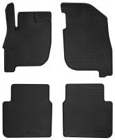 Коврики в салон для Mitsubishi Galant 2004 - 2012 резиновые, черные (Stingray)