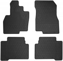Коврики в салон для Mitsubishi Grandis 2003 - 2011 резиновые, черные (Stingray)