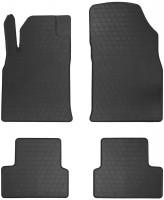 Коврики в салон для Opel Astra J 2009 - 2015 резиновые, черные (Stingray)