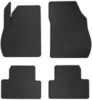 Коврики в салон для Opel Zafira C Tourer c 2012 резиновые, черные (Stingray)