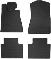 Коврики в салон для Lexus GS '05-12, 2WD резиновые, черные (Stingray)