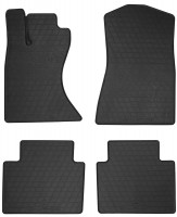 Коврики в салон для Lexus GS '05-12, 4WD резиновые, черные (Stingray)