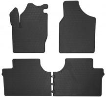 Коврики в салон для Ford Galaxy 2006 - 2012 резиновые, черные (Stingray)