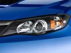 Защита фар для Subaru Impreza '07- прозрачная 2 шт. (EGR)