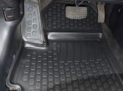 Фото 8 - Коврики в салон для Mitsubishi Lancer X (10) '07- полиуретановые, черные (L.Locker)