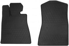 Коврики в салон передние для Lexus GS '05-12, 2WD резиновые, черные (Stingray)