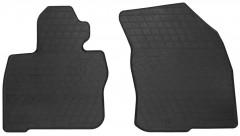 Коврики в салон передние для Honda Civic 5D 2006 - 2012 резиновые, черные (Stingray)