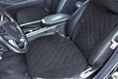 Накидки на передние сидения  АVторитет Премиум, черные