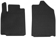Коврики в салон передние для Lexus ES 350 2006 - 2012 резиновые, черные (Stingray)