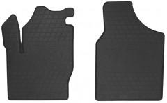 Коврики в салон передние для Volswagen Sharan 2001 - 2010 резиновые, черные (Stingray)