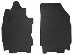Коврики в салон передние для Nissan Note 2006 - 2013 резиновые, черные (Stingray)