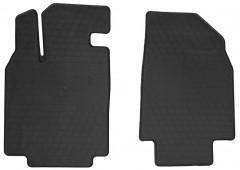 Коврики в салон передние для Mazda CX-9 `08-16 резиновые, черные (Stingray)