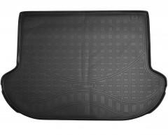 Коврик в багажник для Nissan Murano с 2015, полиуретановый (NorPlast) черный