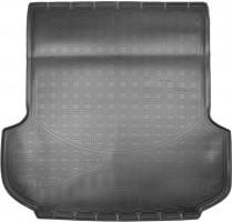 Коврик в багажник для Mitsubishi Pajero Sport с 2016, полиуретановый (NorPlast) черный