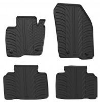 Коврики в салон для Ford Edge '16- резиновые, черные (GledRing)