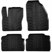 Коврики в салон для Ford Kuga 2011 - 2013 резиновые, черные (GledRing)