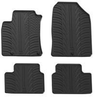 Коврики в салон для Hyundai i30 PD с 2017 резиновые, черные (GledRing)