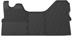 Коврики в салон передние для Iveco Daily '14- резиновые, черные (GledRing)